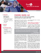 Five9 Channel Blend Case Study