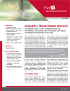 Five9 Kingsdale Shareholder Services Case Study